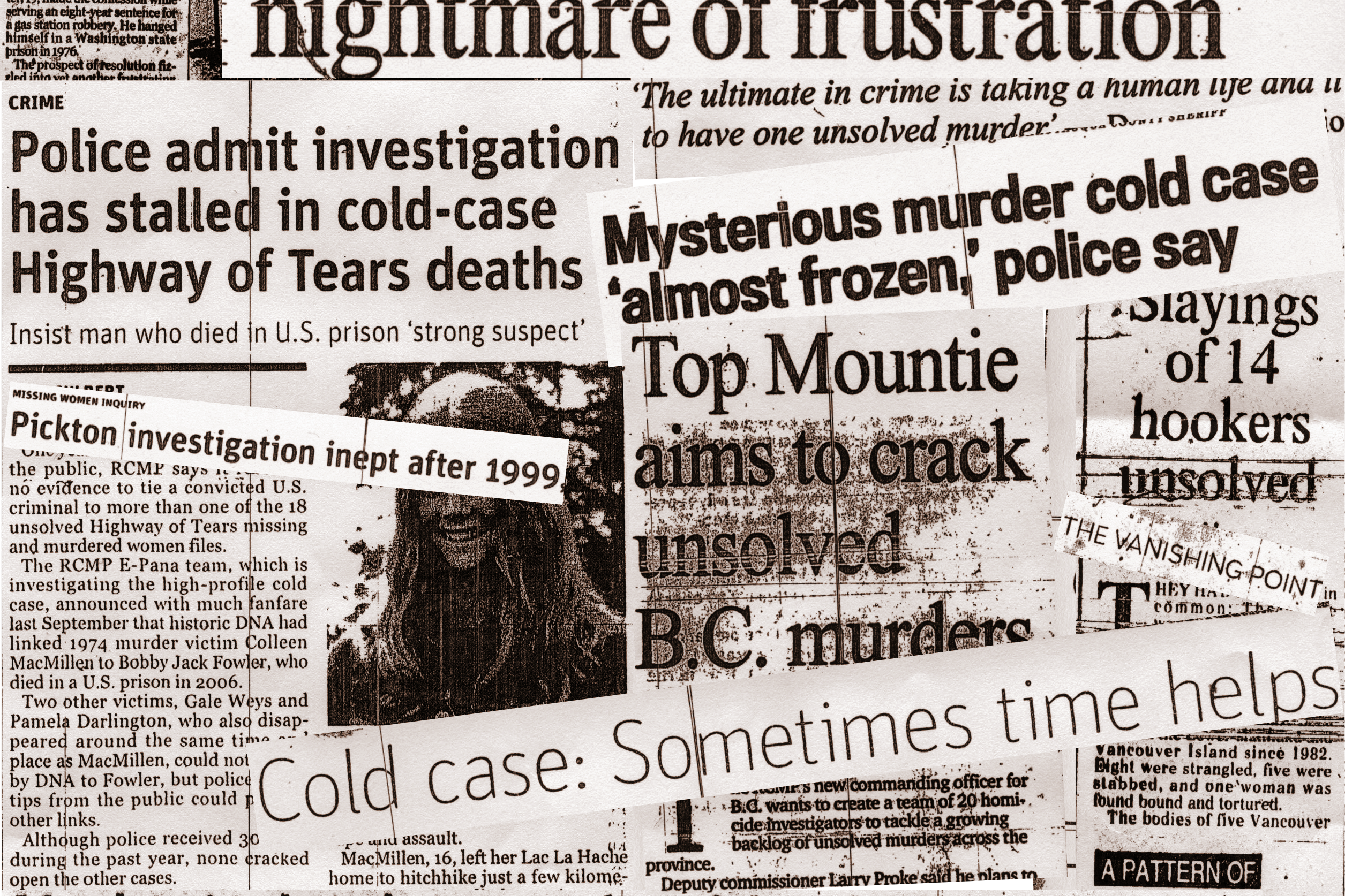 cold case collage Coloured
